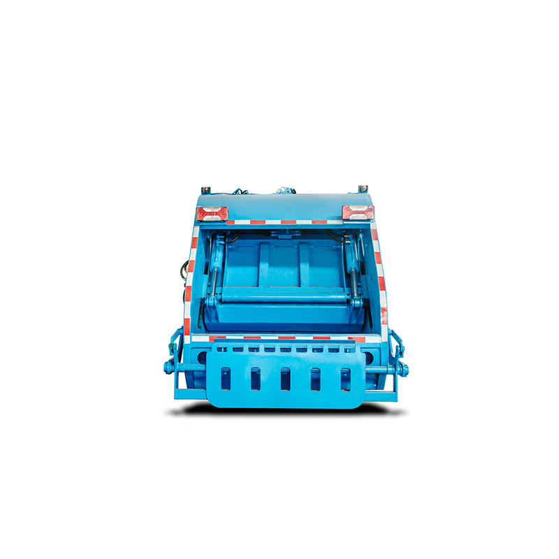 6 CBM rear compression type garbage truck